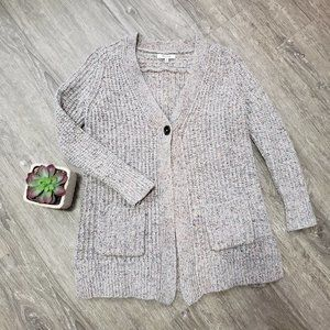 Madewell Speckled Wool Blend Cardigan * Size XS